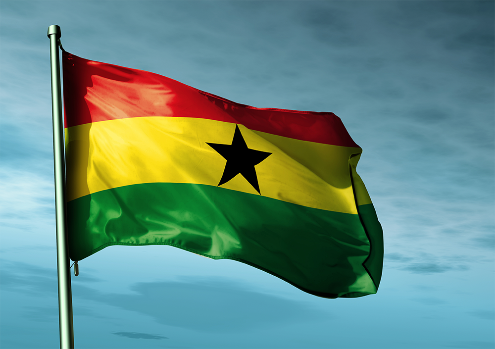 Nice Images Collection: Flag Of Ghana Desktop Wallpapers