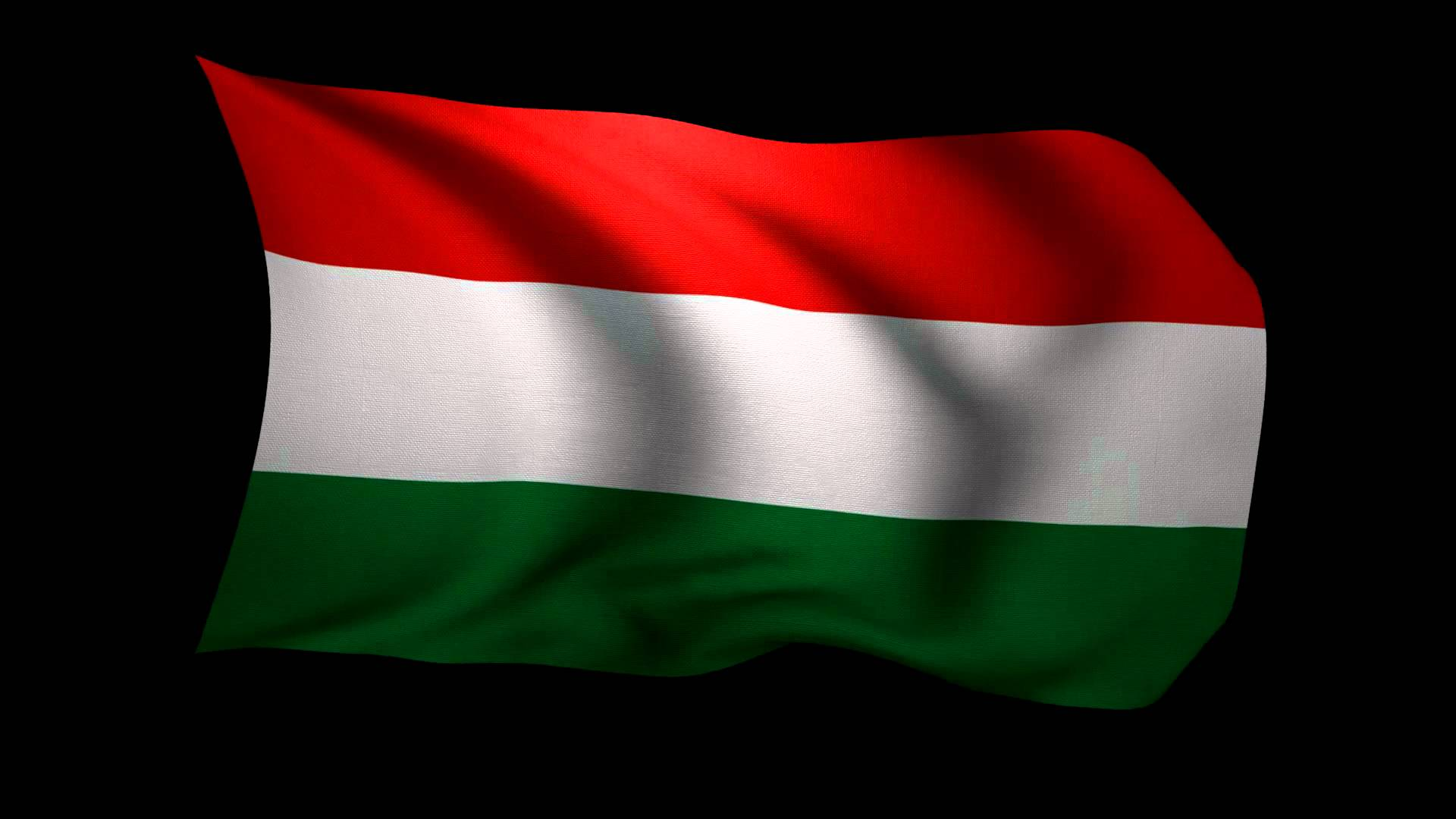 HD Quality Wallpaper | Collection: Misc, 1920x1080 Flag Of Hungary