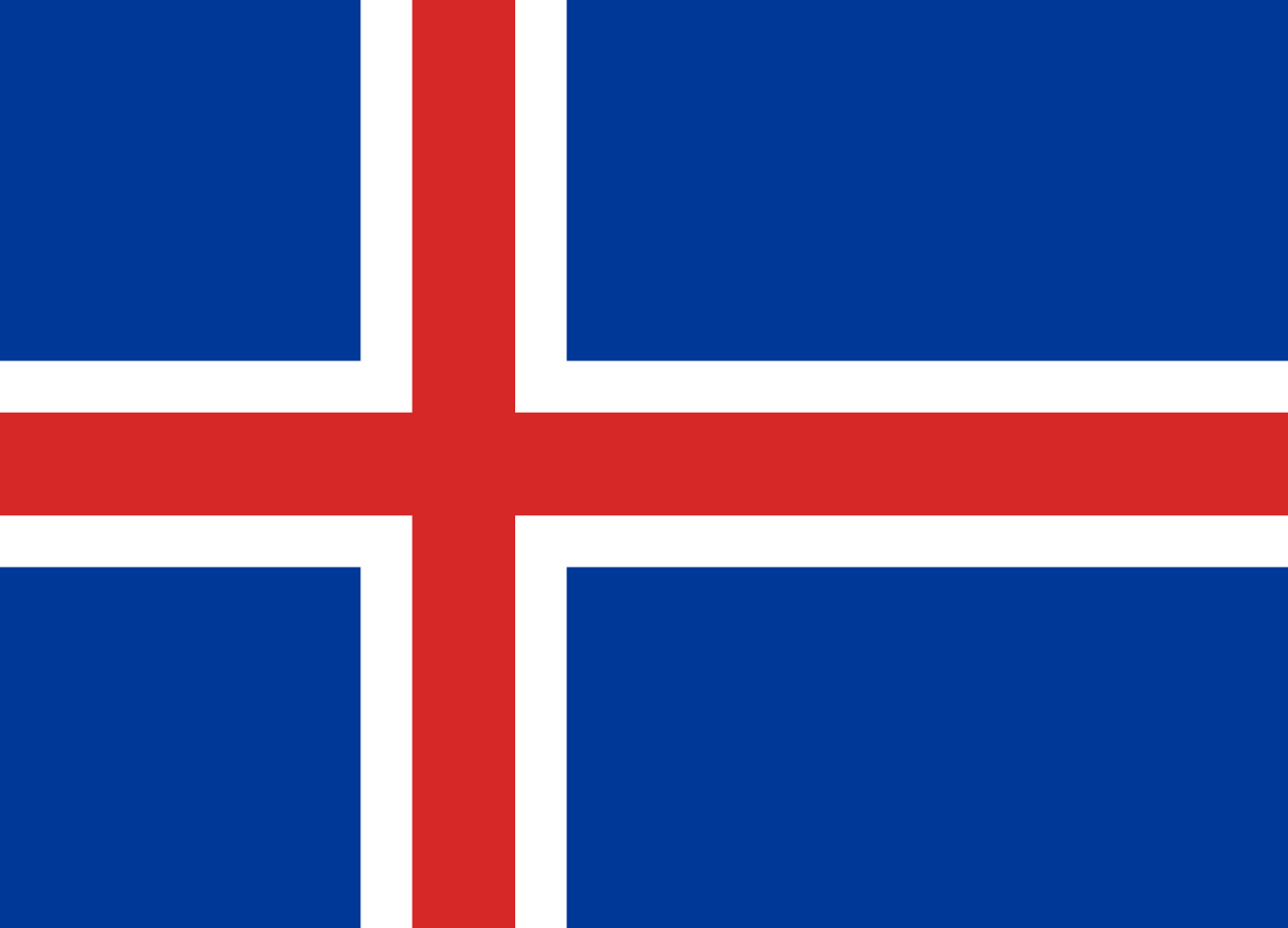 HD Quality Wallpaper | Collection: Misc, 1280x922 Flag Of Iceland