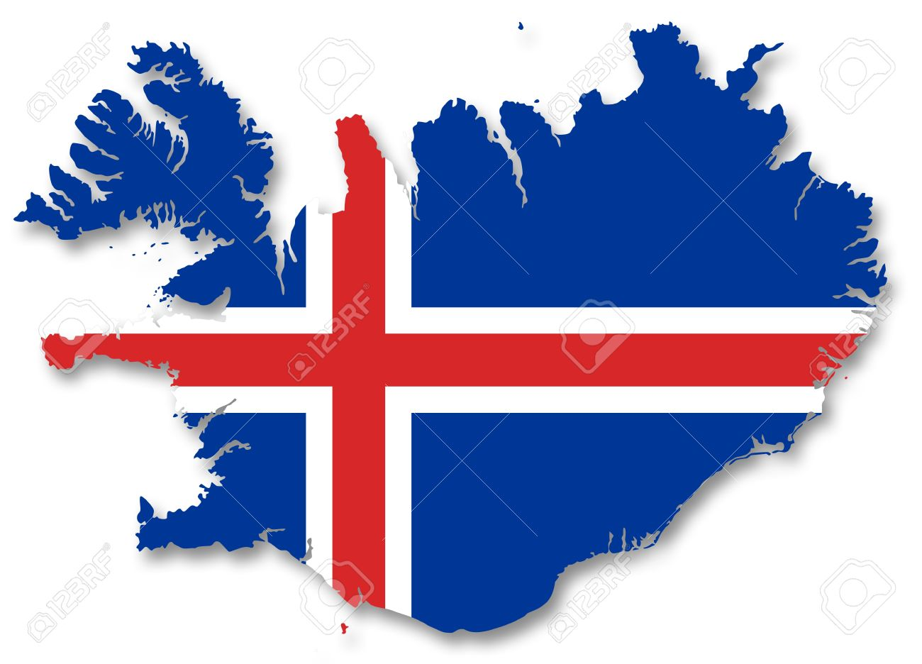 1300x936 > Flag Of Iceland Wallpapers