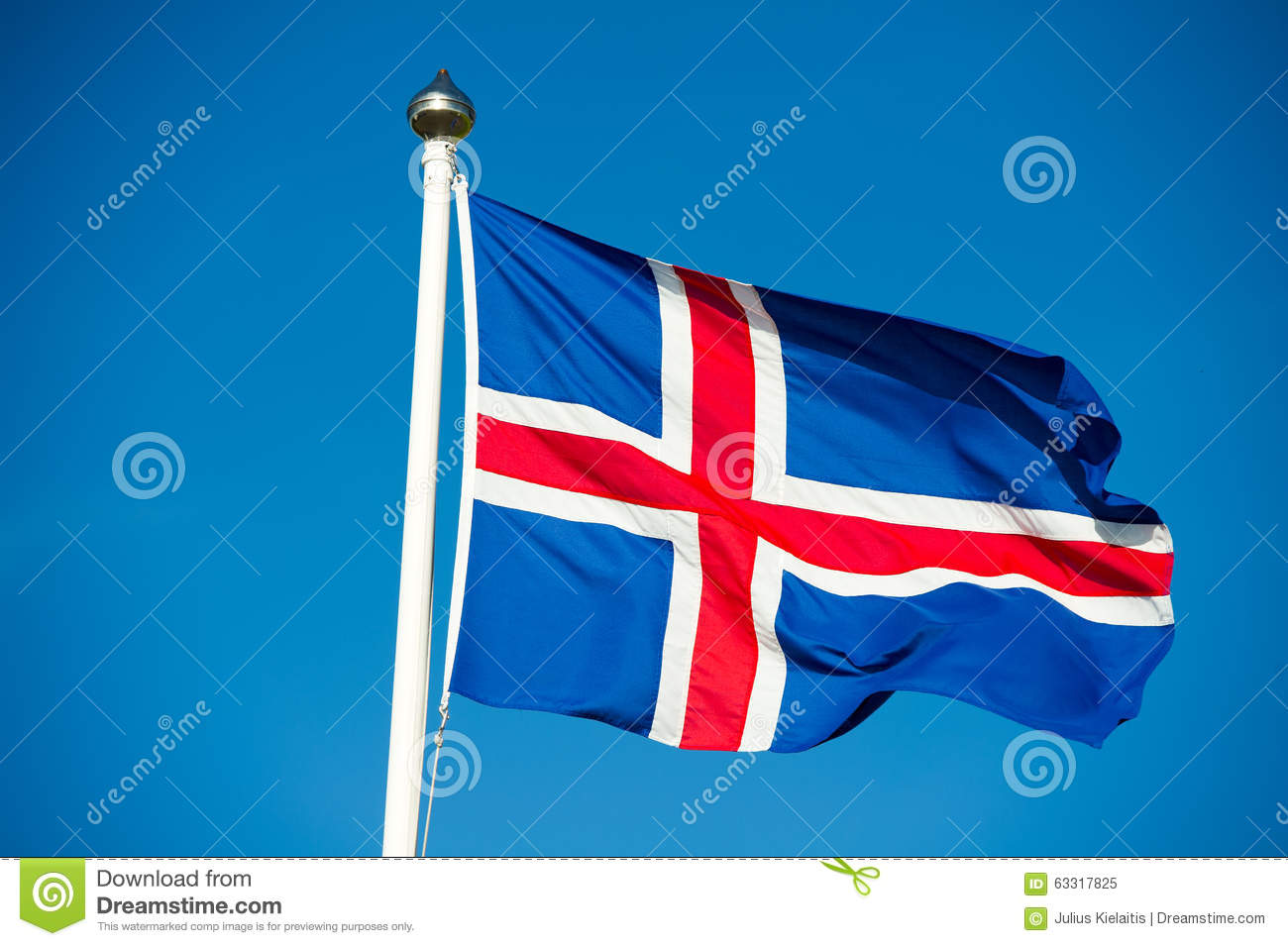 Amazing Flag Of Iceland Pictures & Backgrounds