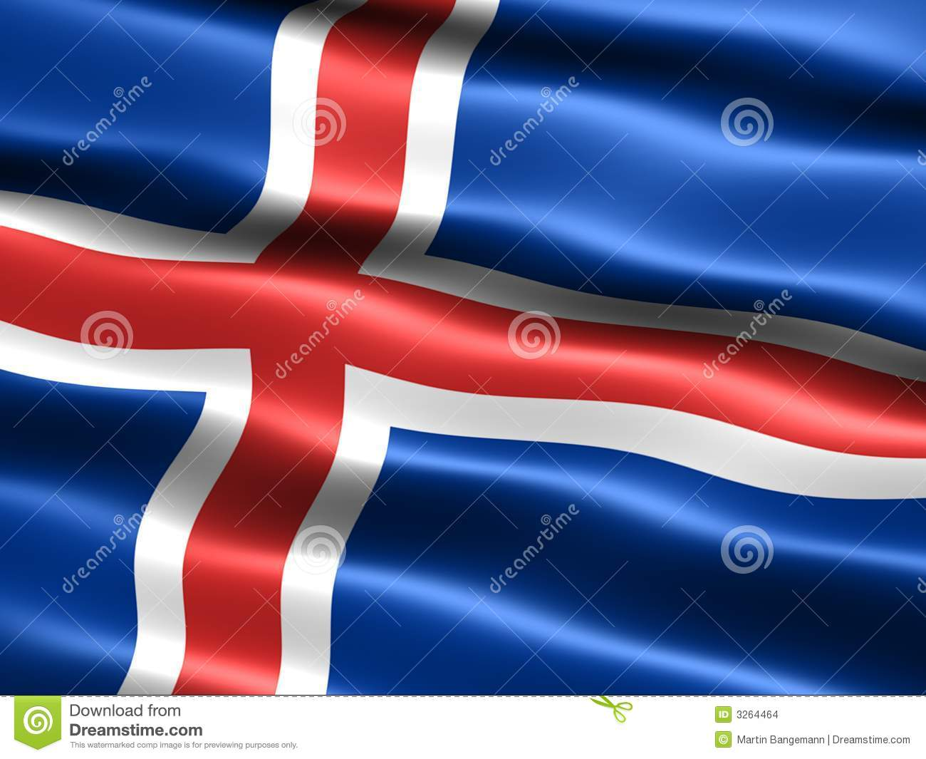 Flag Of Iceland High Quality Background on Wallpapers Vista