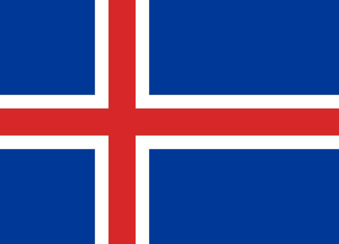 Nice Images Collection: Flag Of Iceland Desktop Wallpapers
