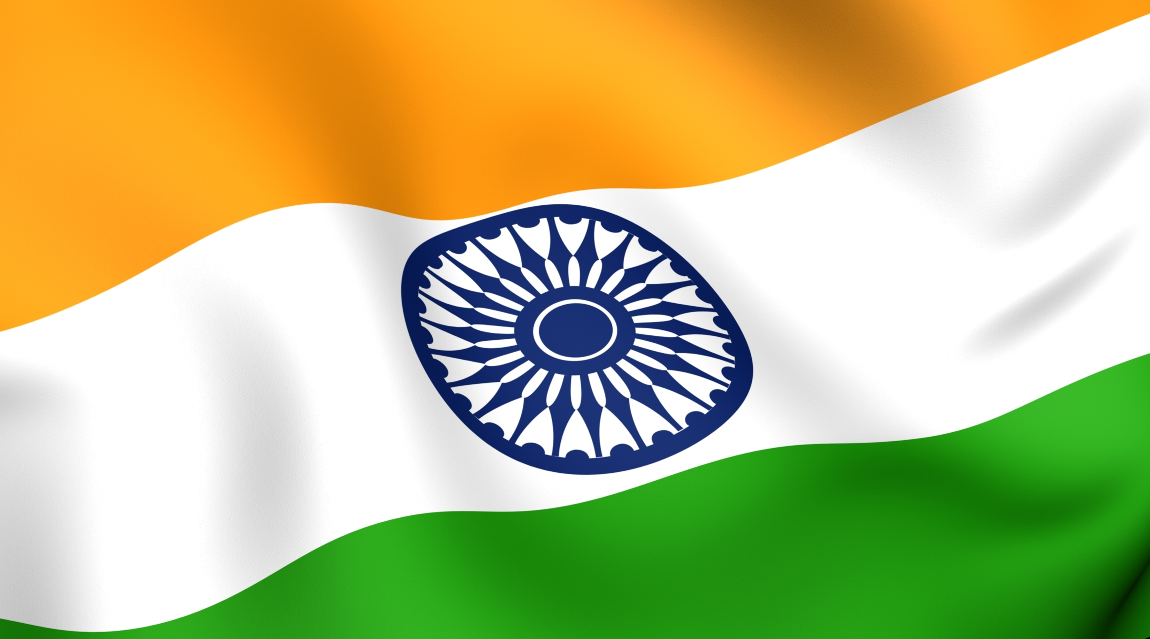 Nice wallpapers Flag Of India 2325x1292px