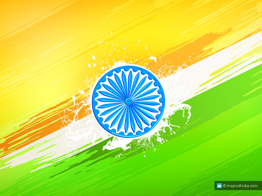 1024x768 > Flag Of India Wallpapers
