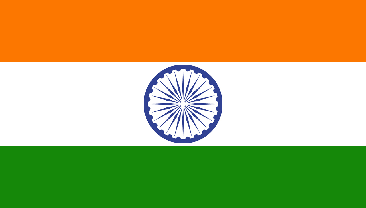 High Resolution Wallpaper | Flag Of India 1280x728 px