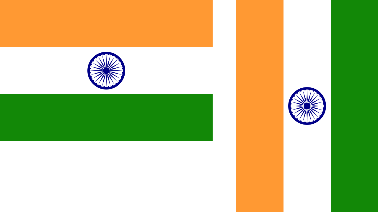 Nice wallpapers Flag Of India 1280x720px
