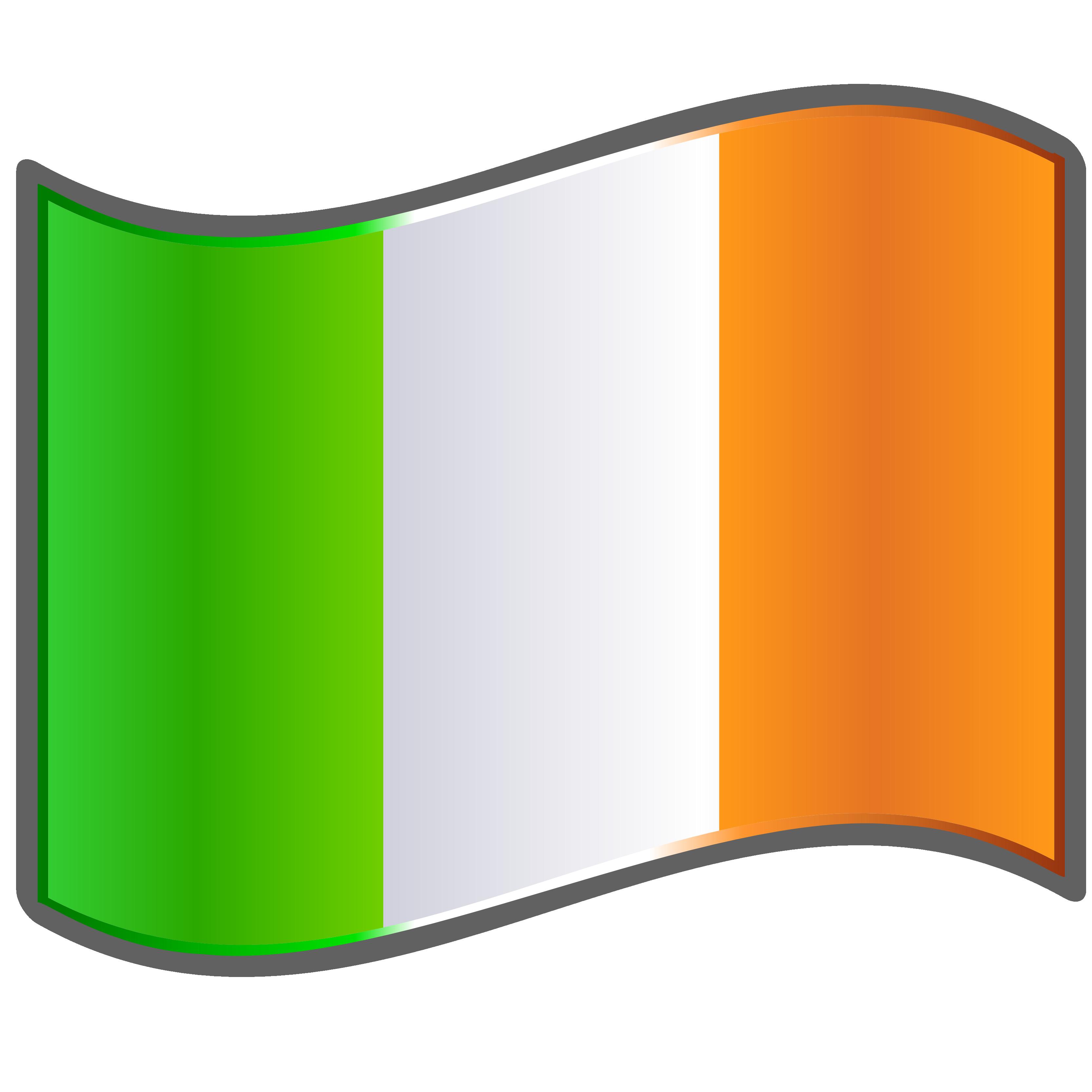 High Resolution Wallpaper | Flag Of Ireland 3333x3333 px