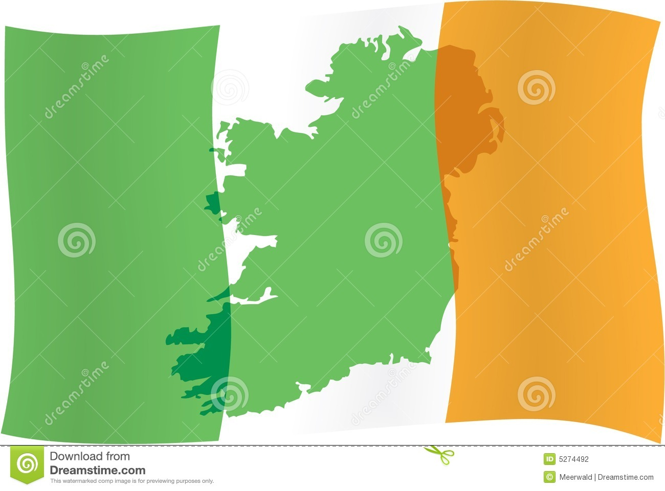 HD Quality Wallpaper | Collection: Misc, 1300x961 Flag Of Ireland