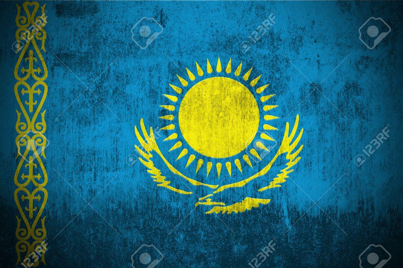 Flag Of Kazakhstan Backgrounds on Wallpapers Vista