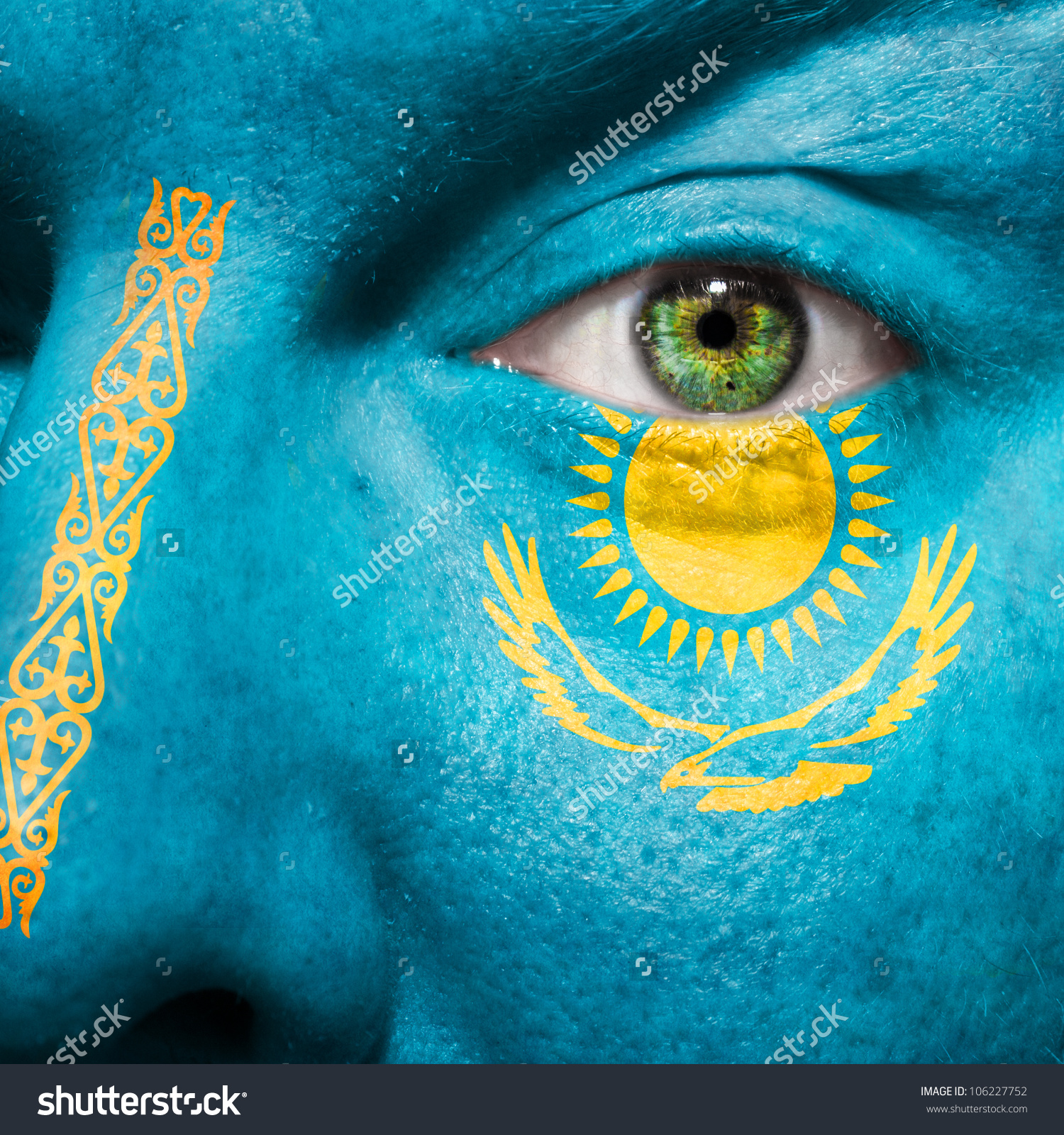 Amazing Flag Of Kazakhstan Pictures & Backgrounds