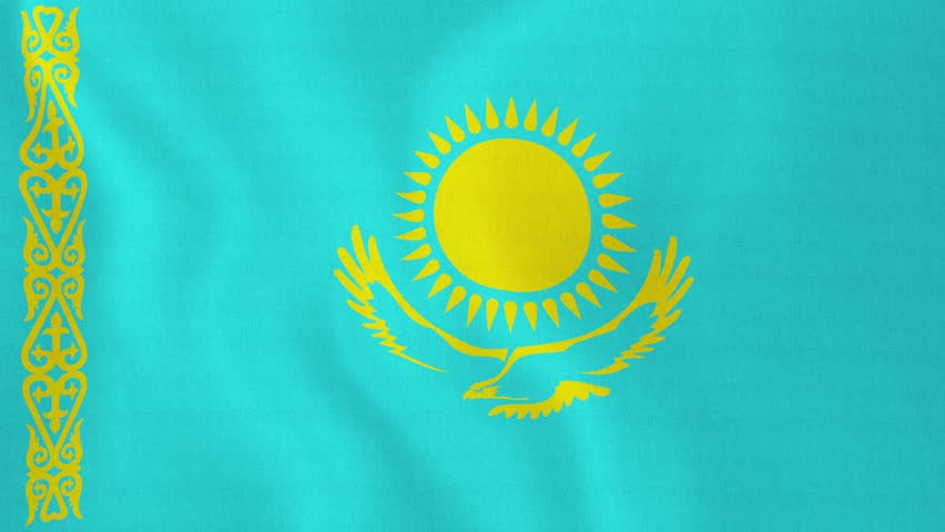 HQ Flag Of Kazakhstan Wallpapers   File 31.6Kb