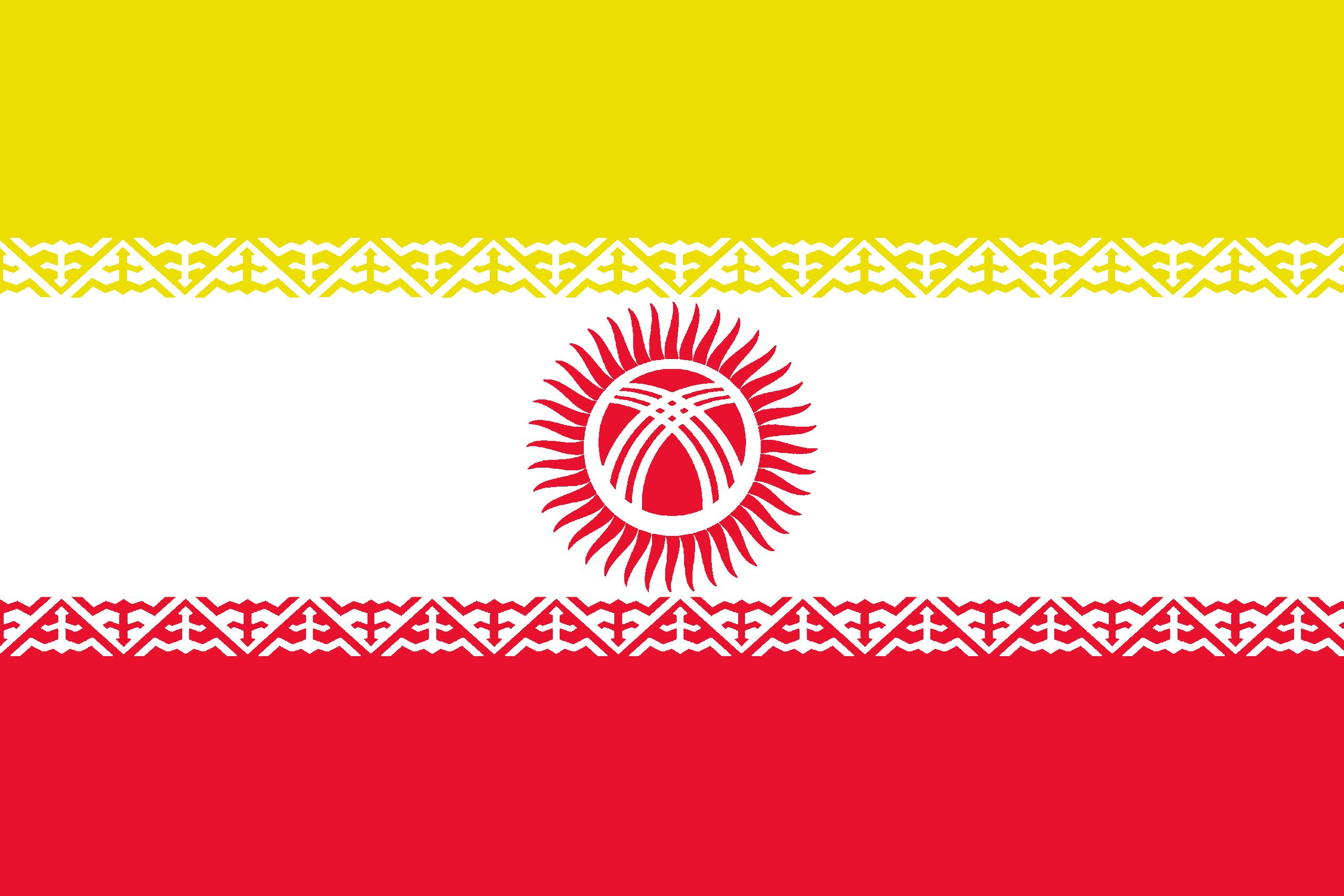 HD Quality Wallpaper   Collection: Misc, 2560x1707 Flag Of Kyrgyzstan