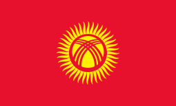 HD Quality Wallpaper   Collection: Misc, 255x153 Flag Of Kyrgyzstan