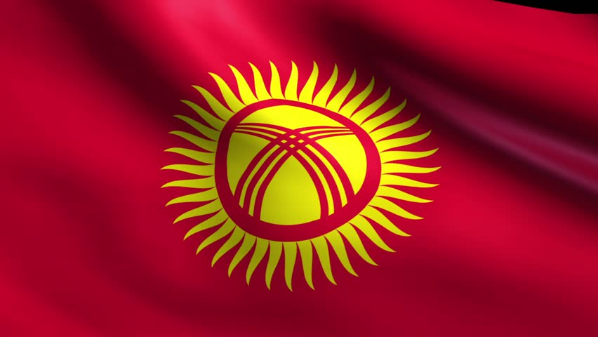 HD Quality Wallpaper   Collection: Misc, 852x480 Flag Of Kyrgyzstan
