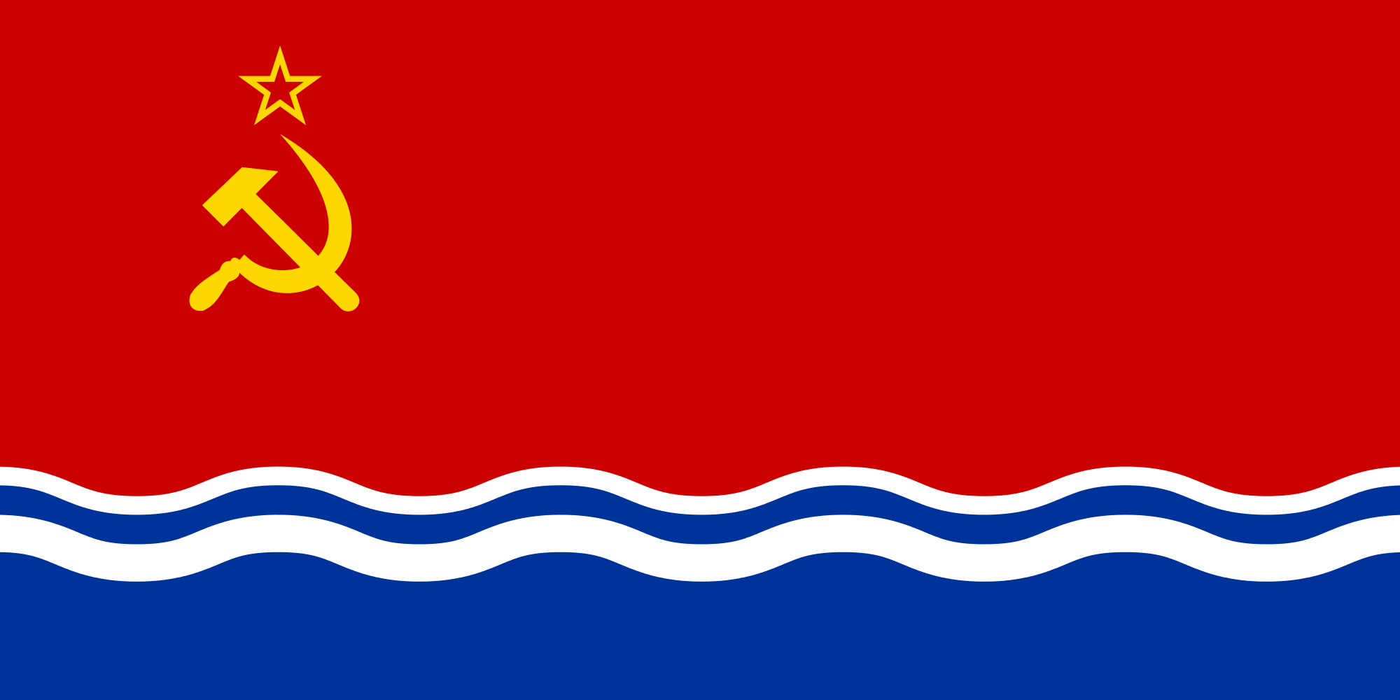 High Resolution Wallpaper | Flag Of Latvia 2000x1000 px