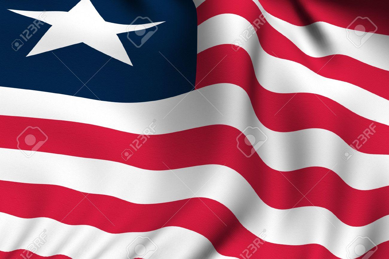 High Resolution Wallpaper | Flag Of Liberia 1300x866 px