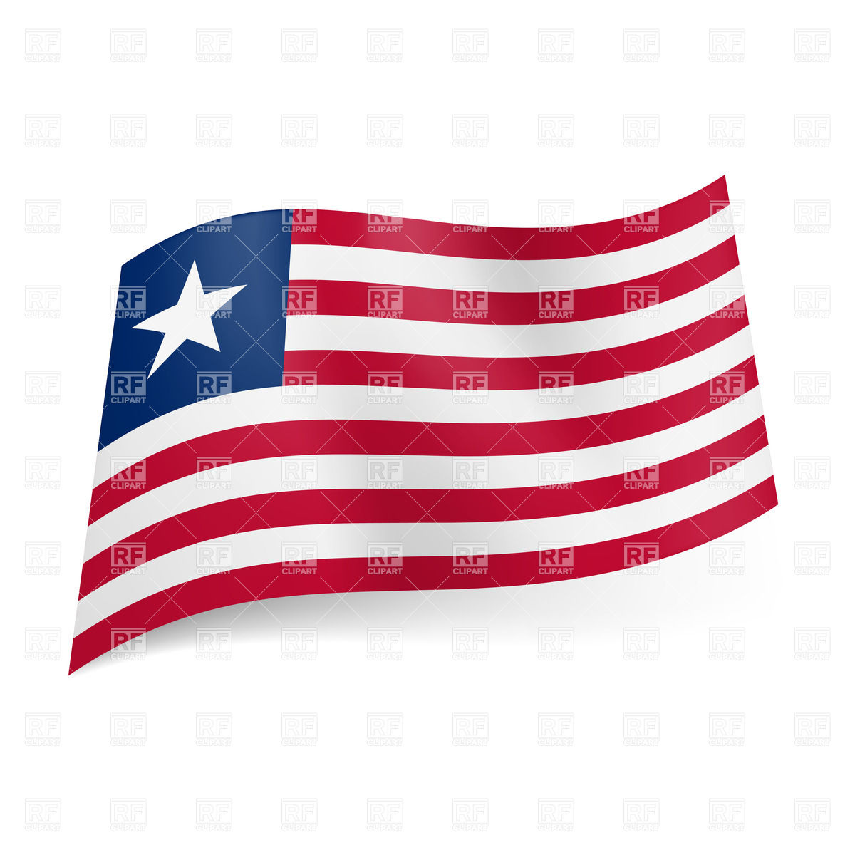 Flag Of Liberia Backgrounds, Compatible - PC, Mobile, Gadgets| 1200x1200 px
