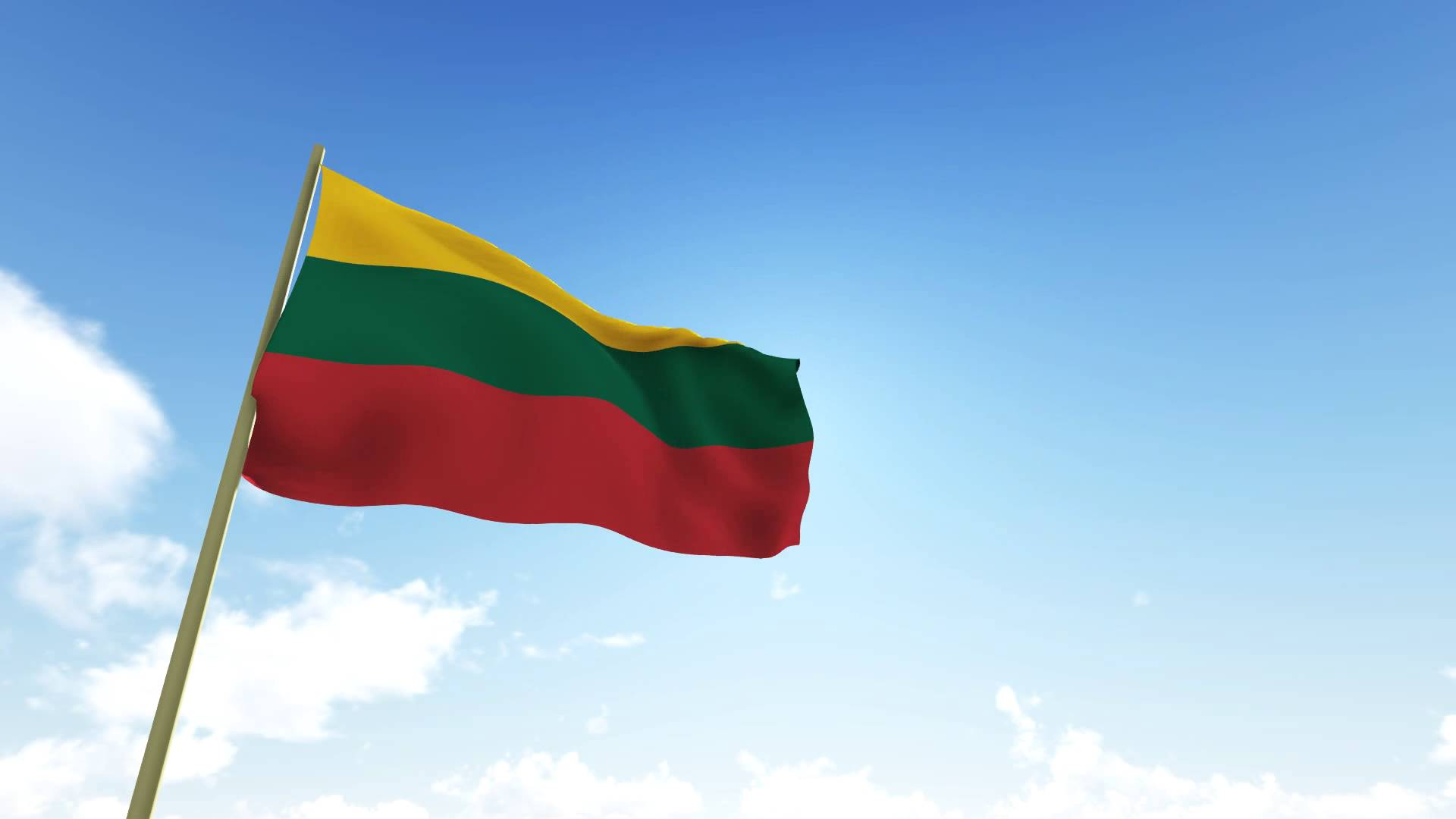 Flag Of Lithuania High Quality Background on Wallpapers Vista