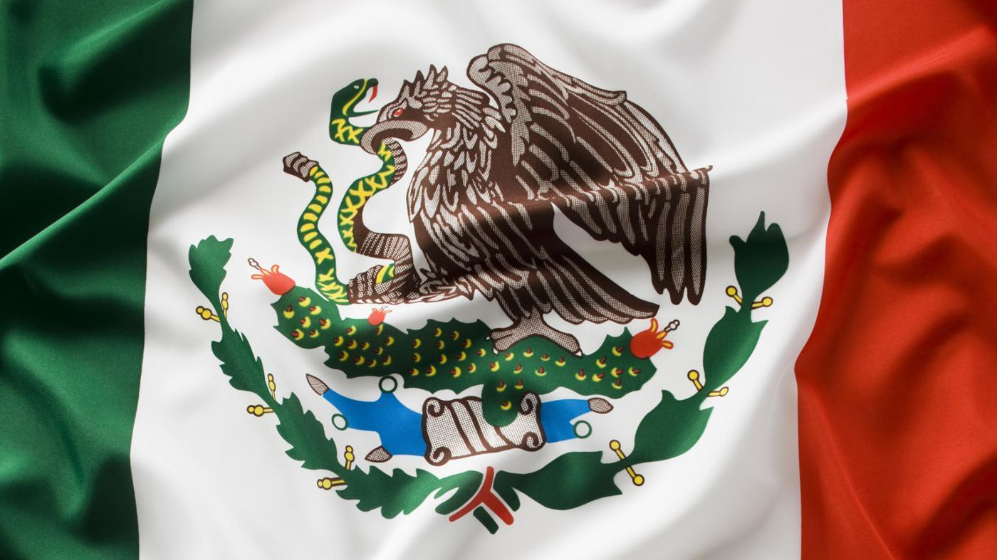 High Resolution Wallpaper   Flag Of Mexico 1400x787 px