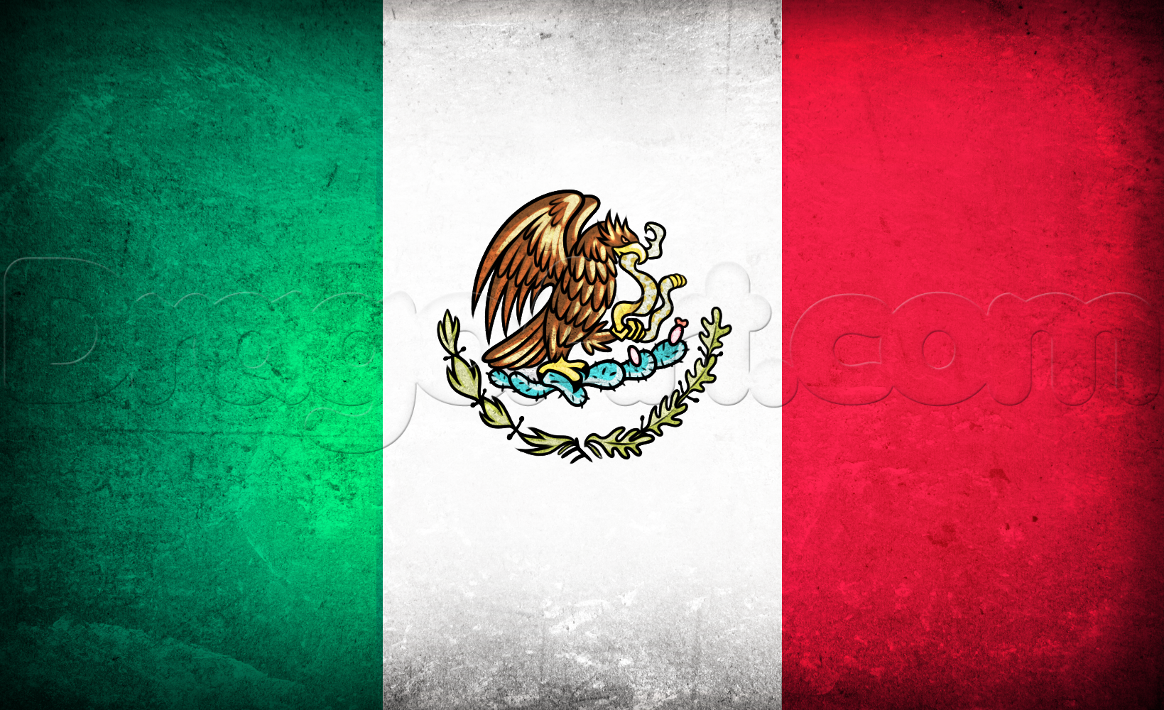 Flag Of Mexico High Quality Background on Wallpapers Vista