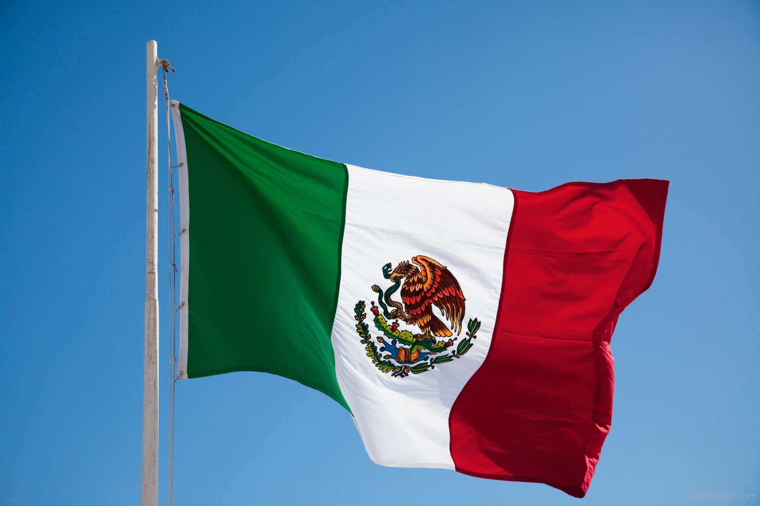 Nice wallpapers Flag Of Mexico 1536x1024px