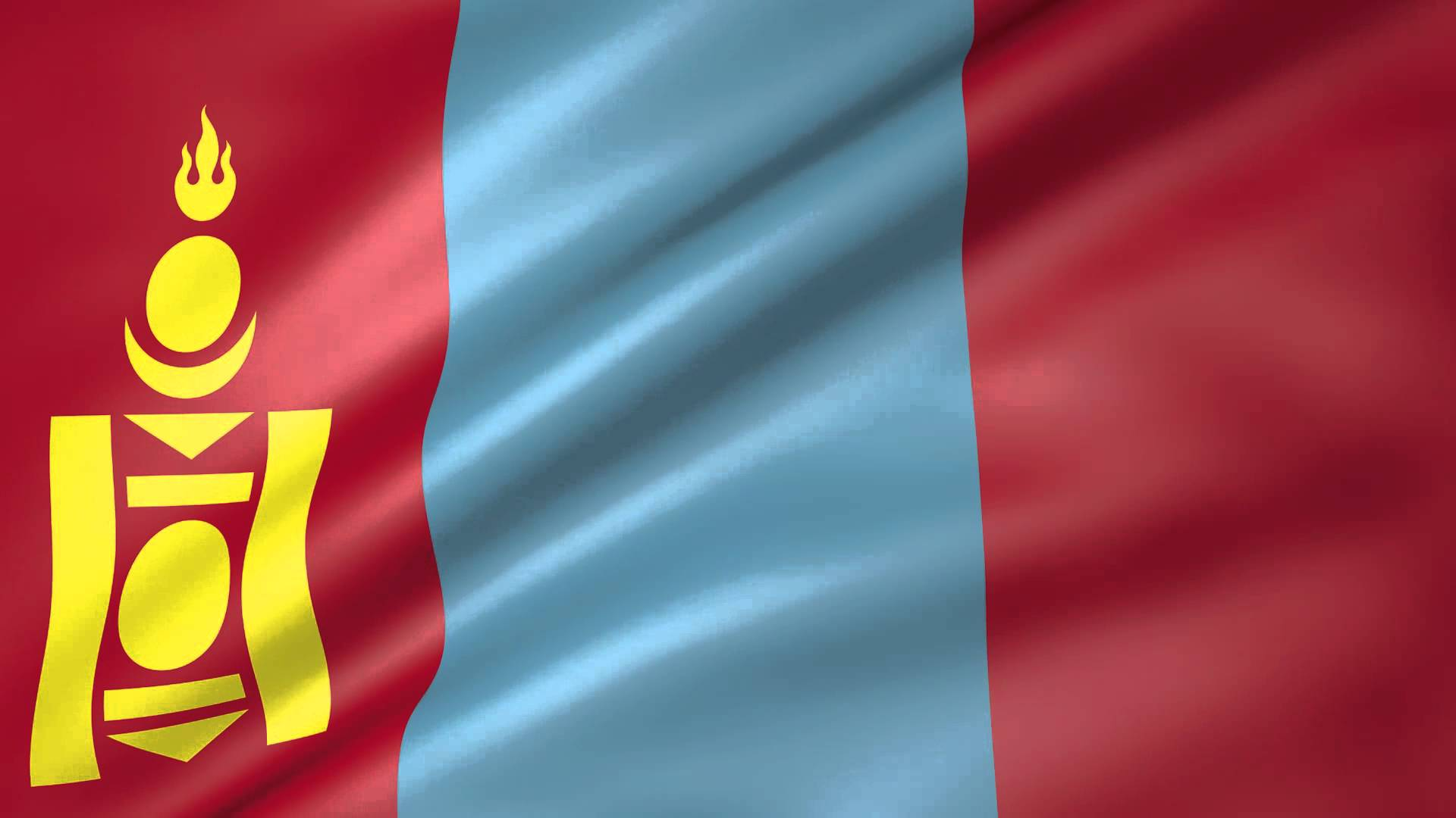 High Resolution Wallpaper   Flag Of Mongolia 1920x1080 px