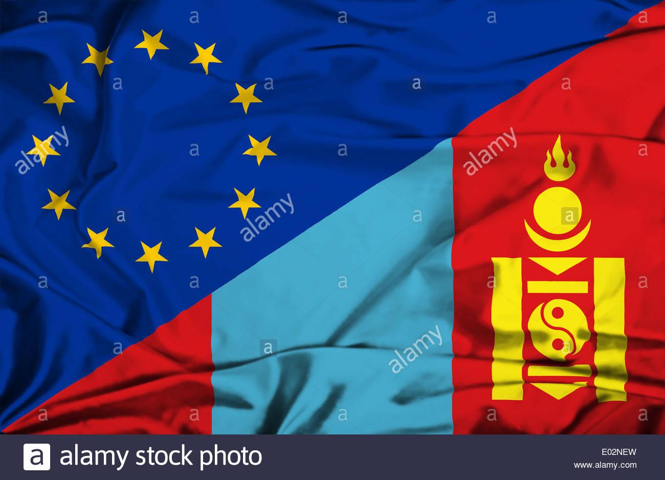 Nice wallpapers Flag Of Mongolia 1300x938px