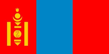 Nice wallpapers Flag Of Mongolia 450x225px