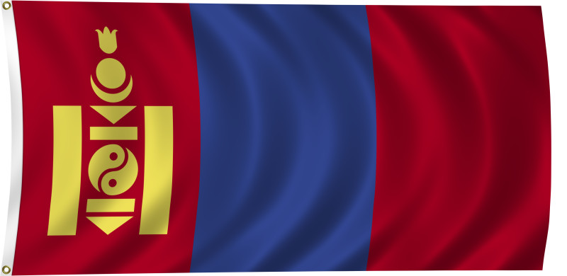 Flag Of Mongolia Backgrounds, Compatible - PC, Mobile, Gadgets  800x390 px