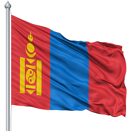 Images of Flag Of Mongolia   450x450