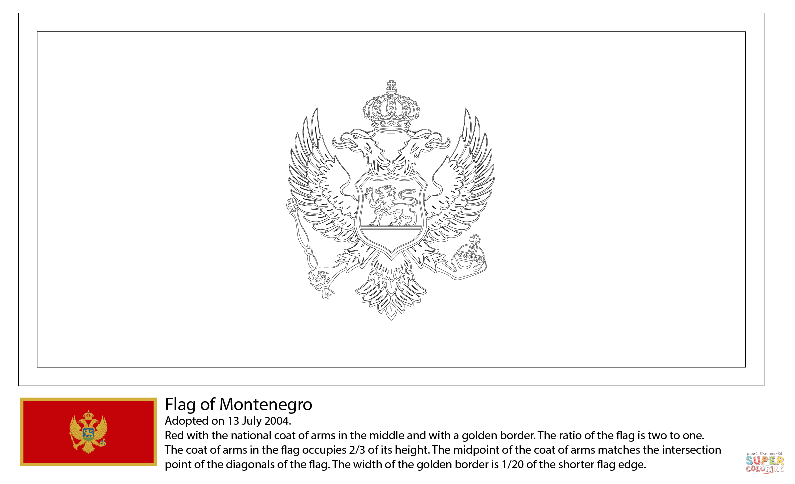 HQ Flag Of Montenegro Wallpapers | File 57.83Kb