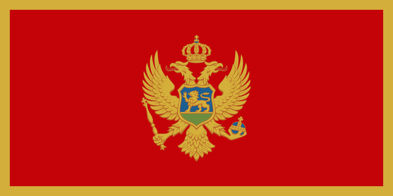 1280x640 > Flag Of Montenegro Wallpapers