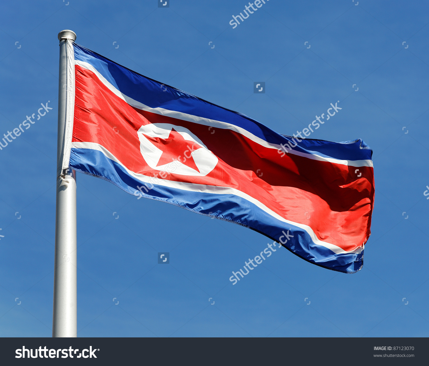 HD Quality Wallpaper | Collection: Misc, 1500x1280 Flag Of North Korea