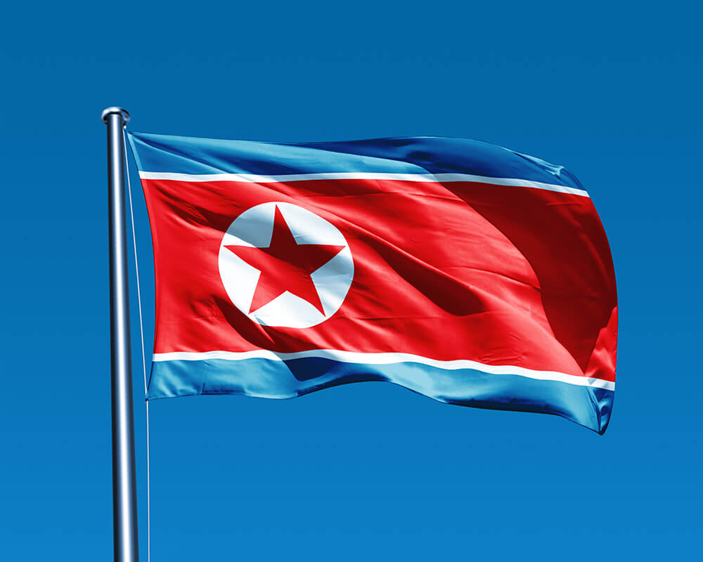 Flag Of North Korea Backgrounds, Compatible - PC, Mobile, Gadgets| 1000x800 px