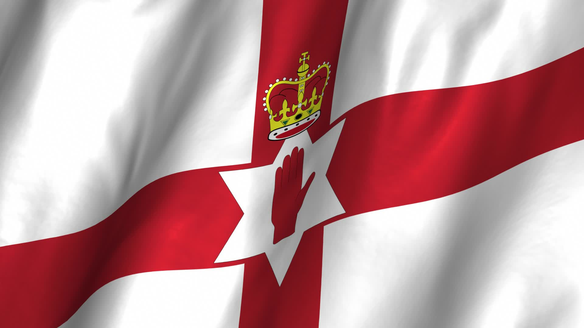 Flag Of Northern Ireland Backgrounds, Compatible - PC, Mobile, Gadgets  1920x1080 px