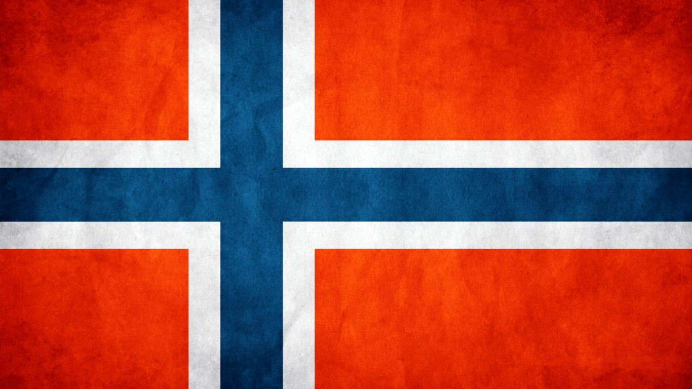 High Resolution Wallpaper | Flag Of Norway 1366x768 px