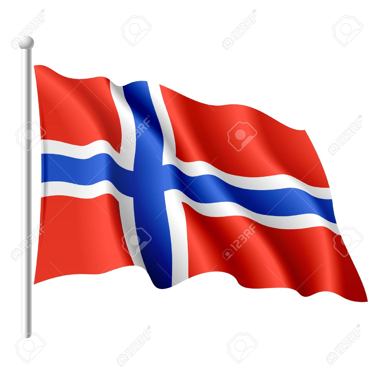 Flag Of Norway Backgrounds, Compatible - PC, Mobile, Gadgets| 1300x1300 px