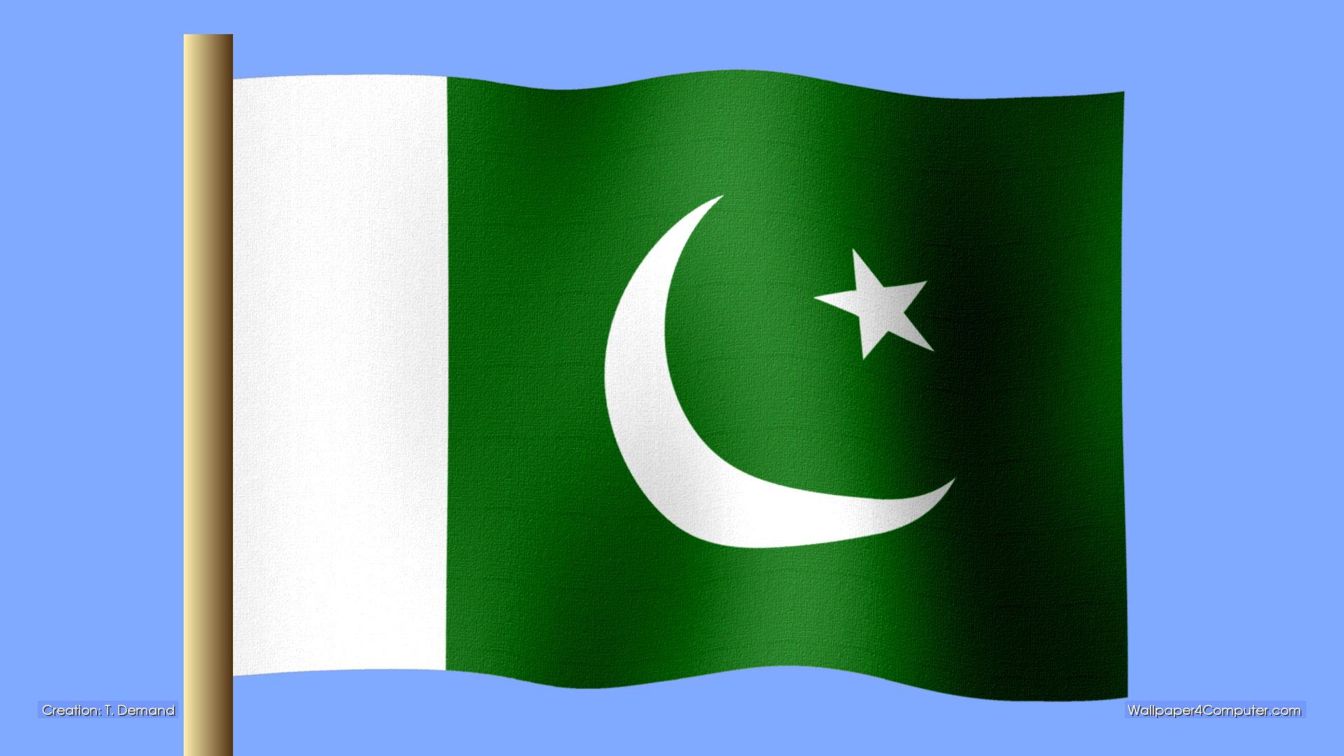 Flag Of Pakistan Backgrounds, Compatible - PC, Mobile, Gadgets| 1920x1080 px