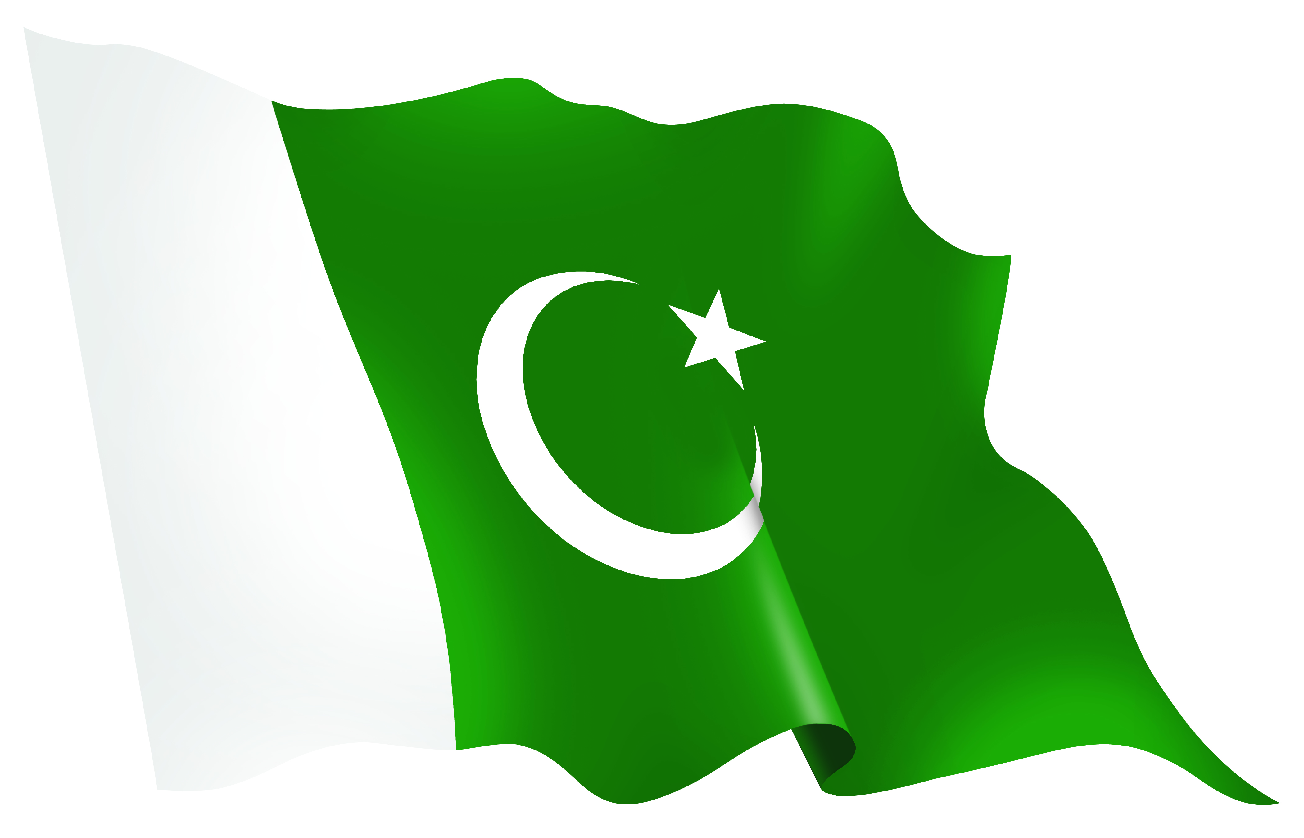Nice Images Collection: Flag Of Pakistan Desktop Wallpapers