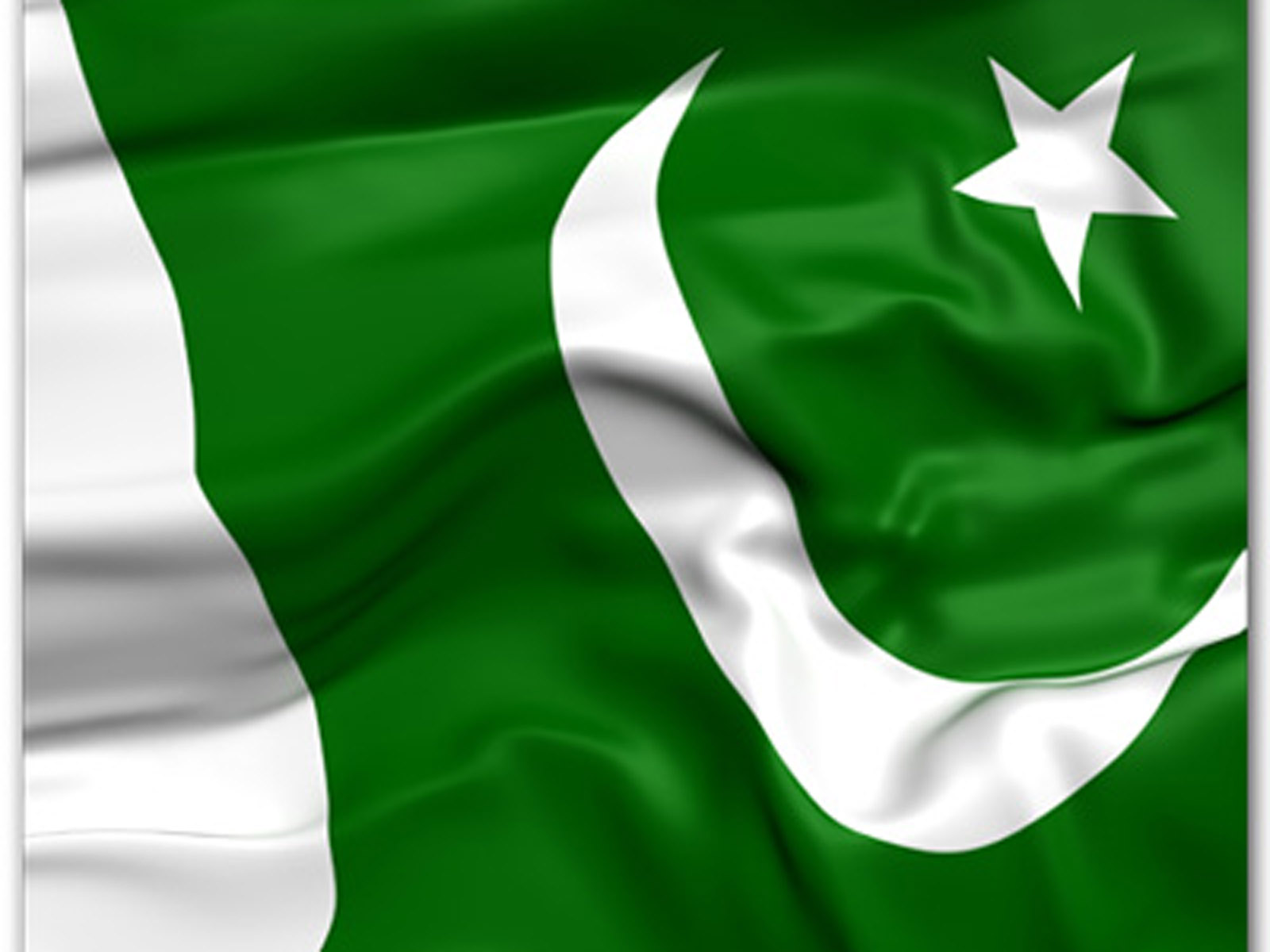 HD Quality Wallpaper | Collection: Misc, 1600x1200 Flag Of Pakistan