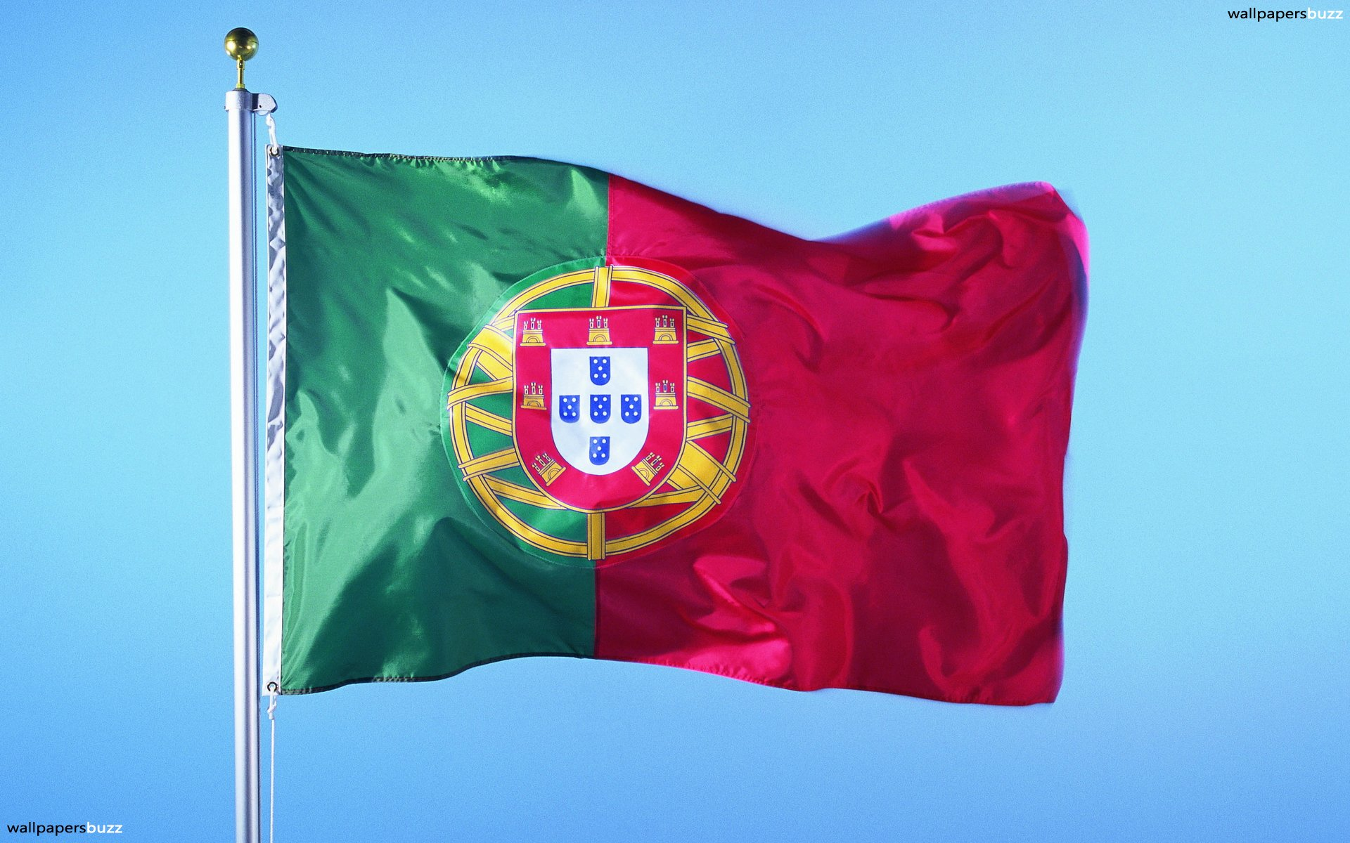 Flag Of Portugal Backgrounds, Compatible - PC, Mobile, Gadgets  1920x1200 px