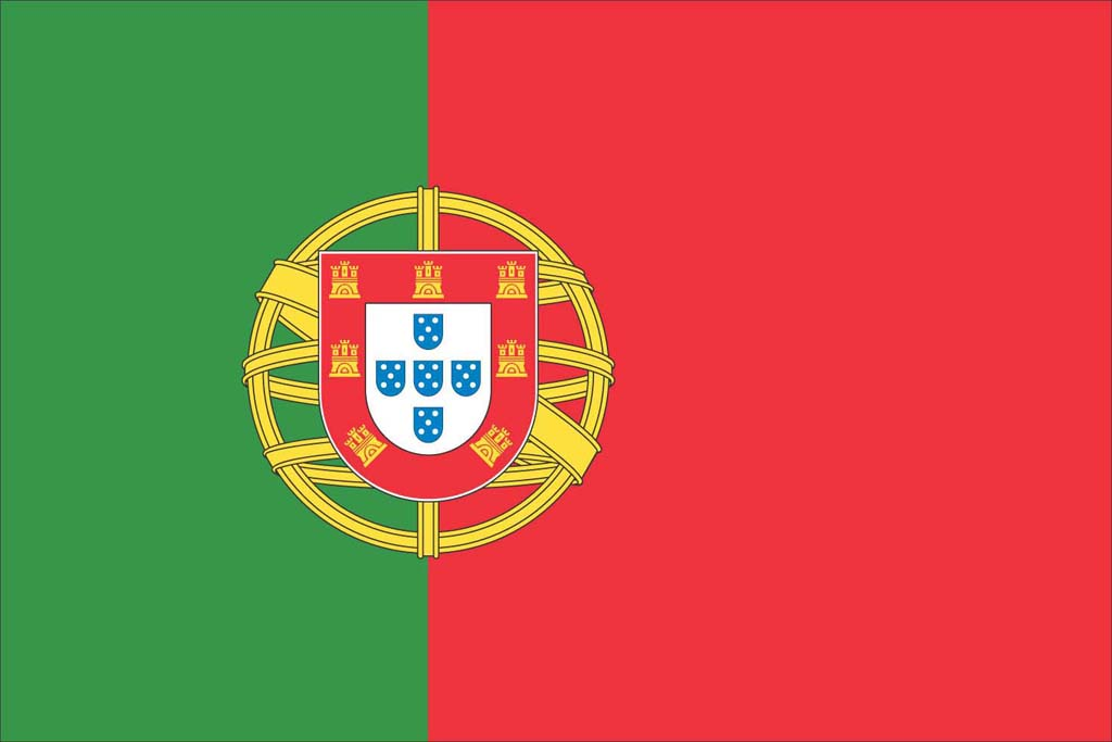 Nice Images Collection: Flag Of Portugal Desktop Wallpapers