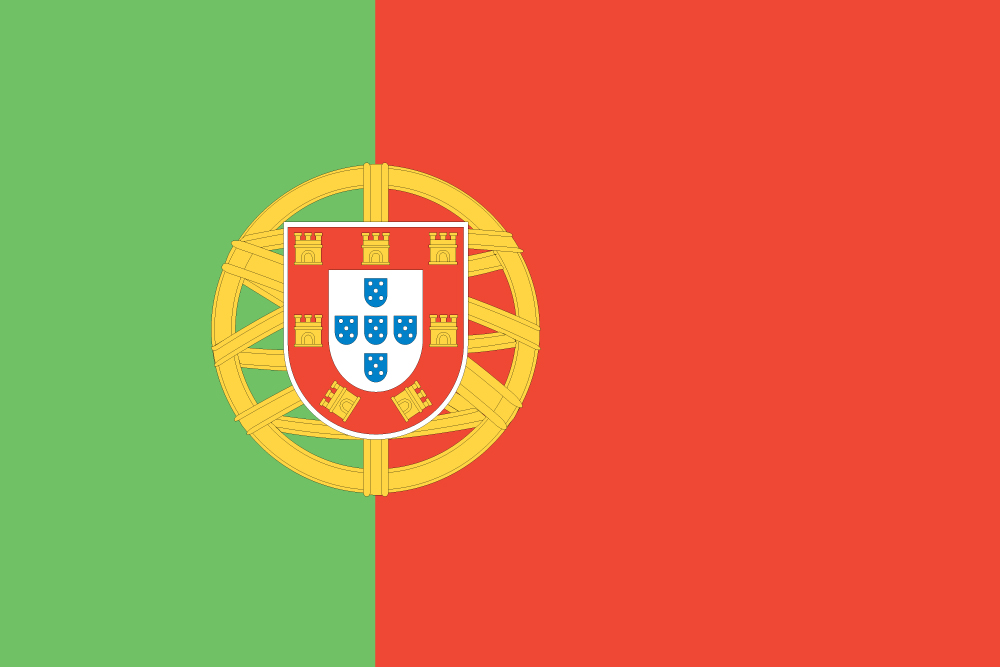 Nice wallpapers Flag Of Portugal 1000x667px