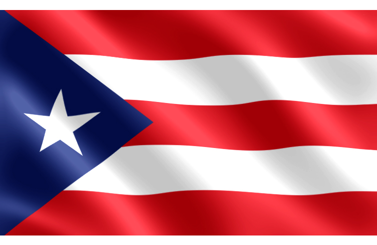 HD Quality Wallpaper | Collection: Misc, 753x490 Flag Of Puerto Rico