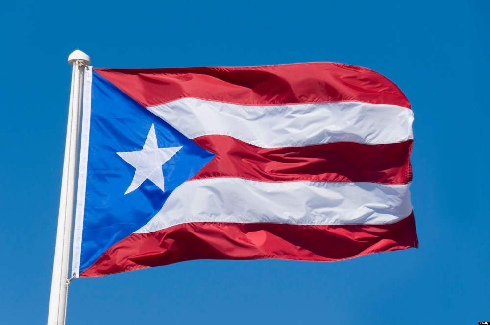 High Resolution Wallpaper | Flag Of Puerto Rico 1000x664 px