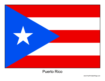HD Quality Wallpaper | Collection: Misc, 364x281 Flag Of Puerto Rico