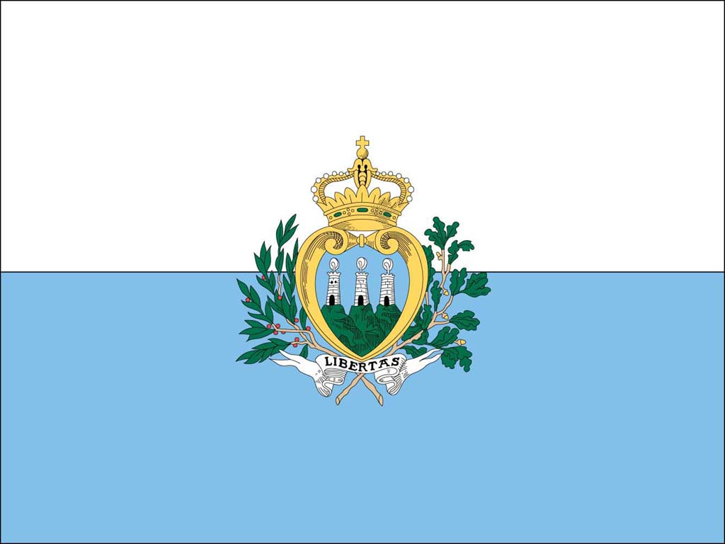 Flag Of San Marino Backgrounds, Compatible - PC, Mobile, Gadgets  1024x768 px