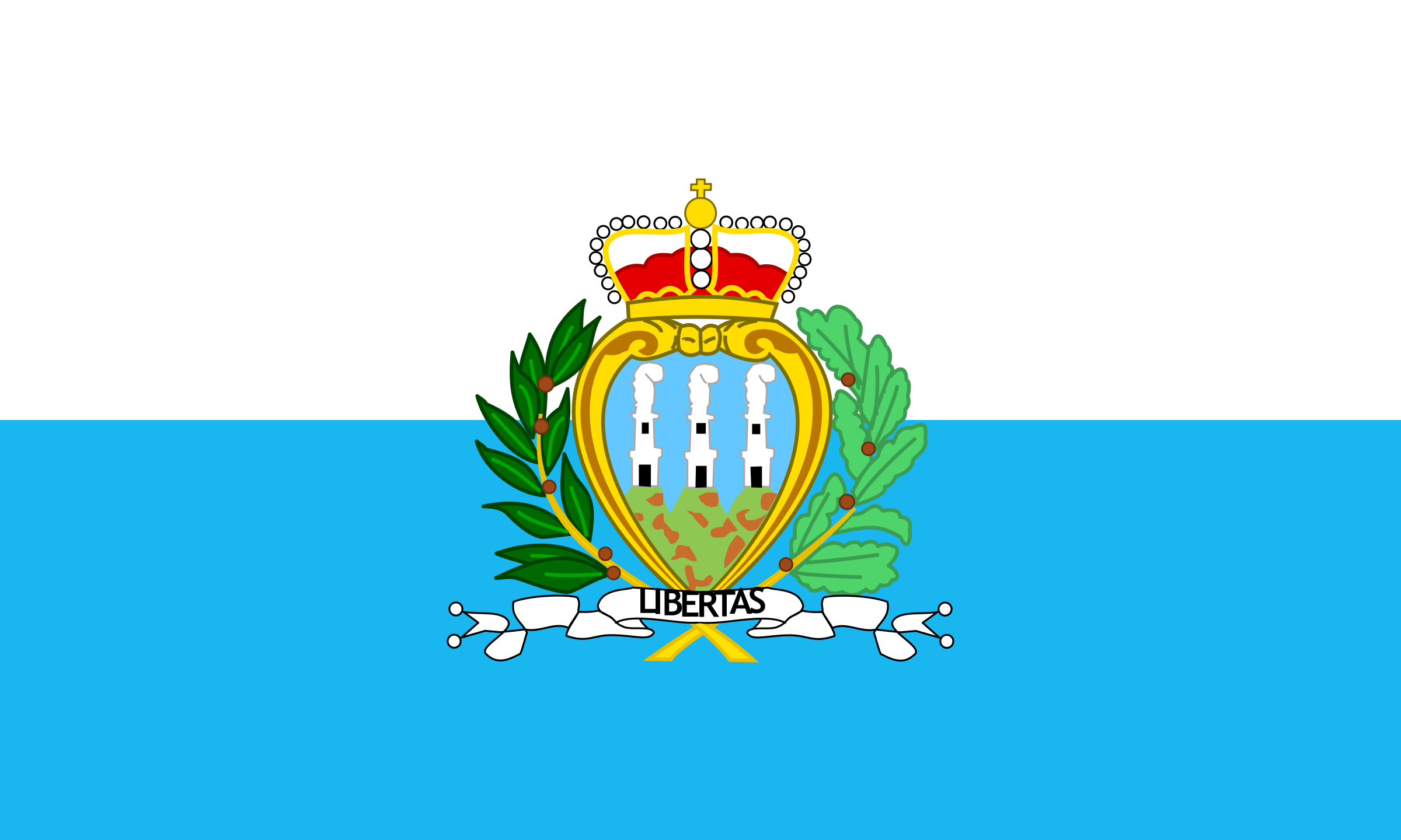 Images of Flag Of San Marino   2400x1440