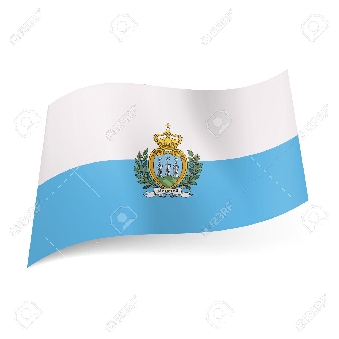 Nice Images Collection: Flag Of San Marino Desktop Wallpapers